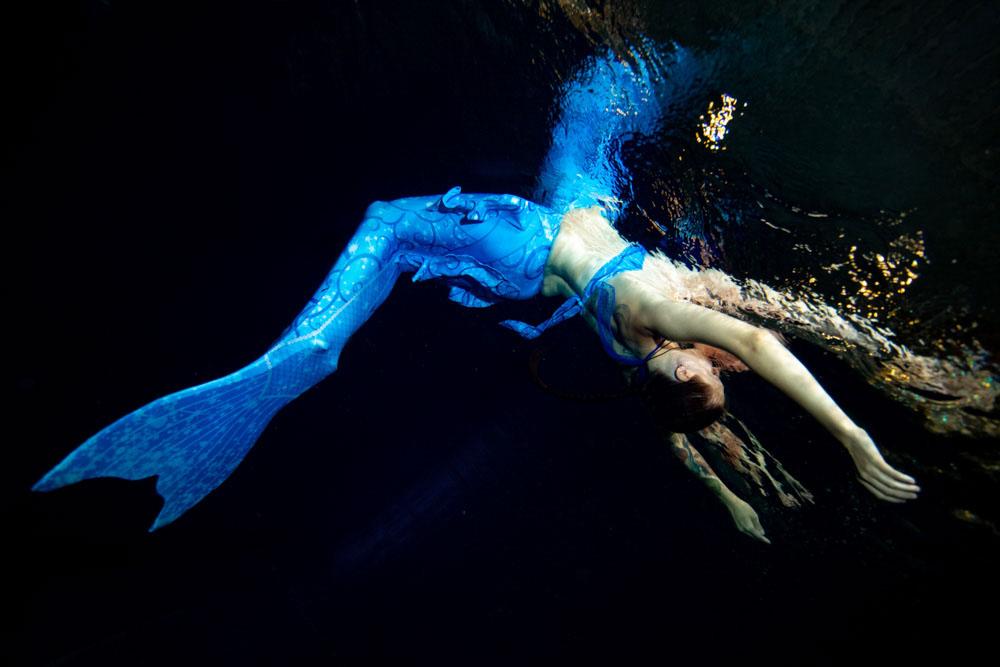 Mermaid Schwimmen in Dresden - Schwimmen wie Arielle