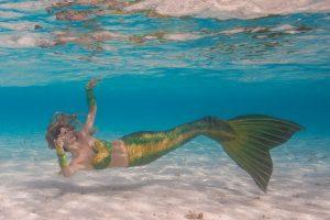 Professioneller Meerjungfrauen Apnoe Workshop mit Mermaid Kat - Ian Gray Photography
