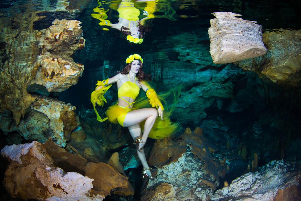 Unterwasser Model Kurs mit Katrin Gray
