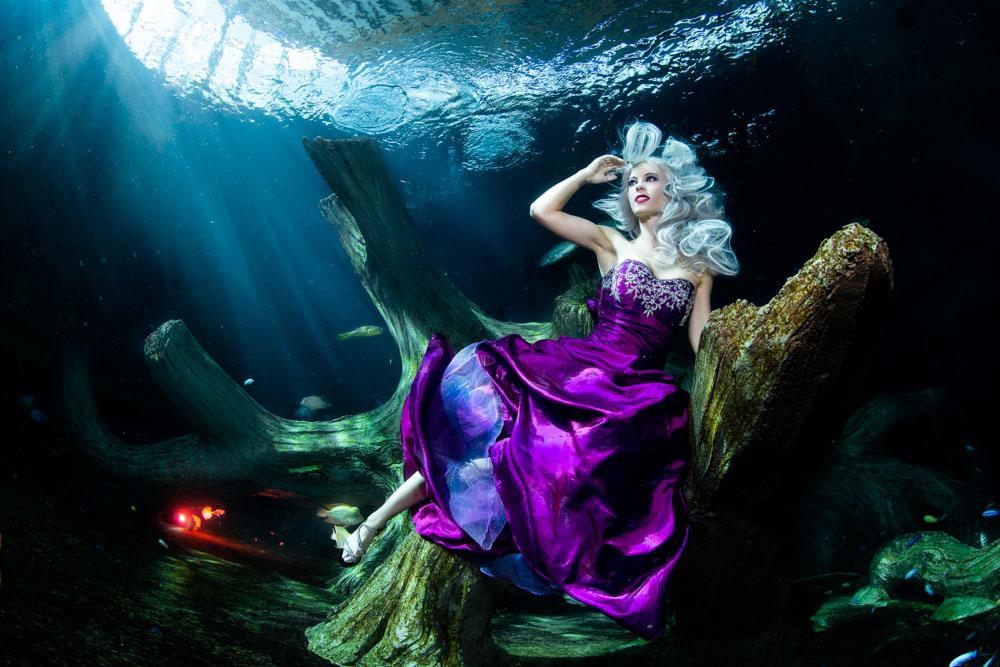 Unterwasser Modelling Kurs mit Katrin Gray (Mermaid Kat) und Konstantin Killer