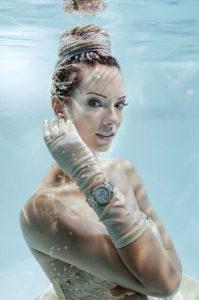 Unterwasserfotoshooting für DAVOSA