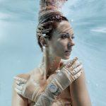 Unterwasserfotoshooting für DAVOSA Uhren mit Model Katrin Gray - Foto von Konstantin Killer