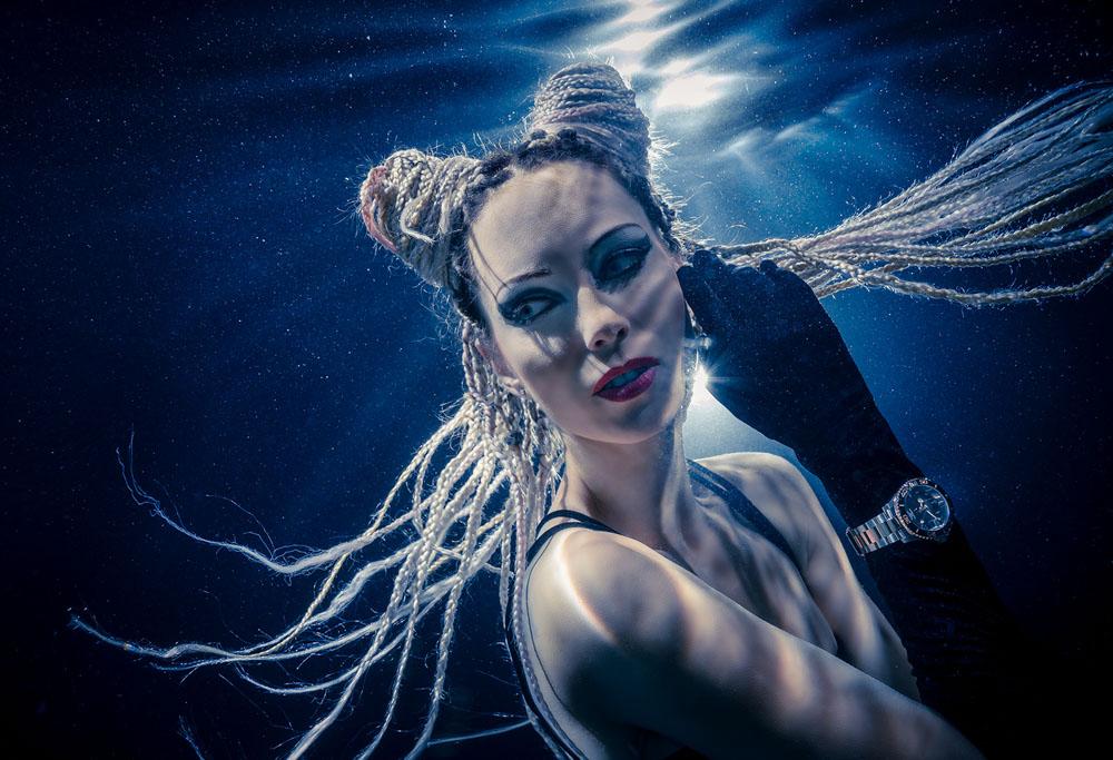 Unterwassermodelfotografie - Unterwasserfotoshooting mit Mermaid Kat und Konstantin Killer