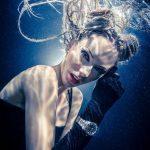 Unterwassermodelshooting - Unterwasserfotoshooting für DAVOSA Uhren mit Katrin Gray