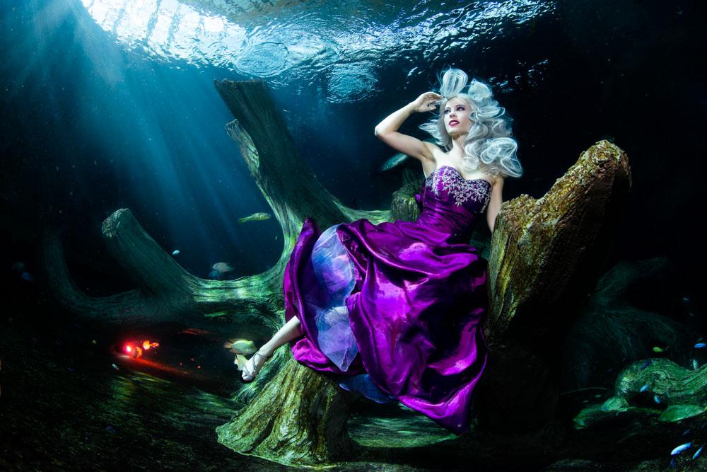 Unterwassermodelshooting mit Katrin Gray (Felton) und Konstantin Killer