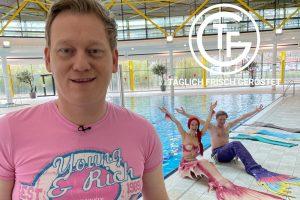 Meerjungfrau Mermaid Kat bei Täglich frisch geröstet auf RTL
