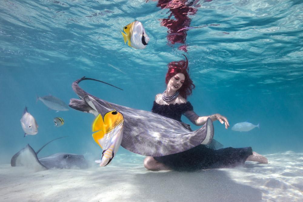 Arbeiten als Unterwasser Stuntfrau - Interview mit Katrin Gray