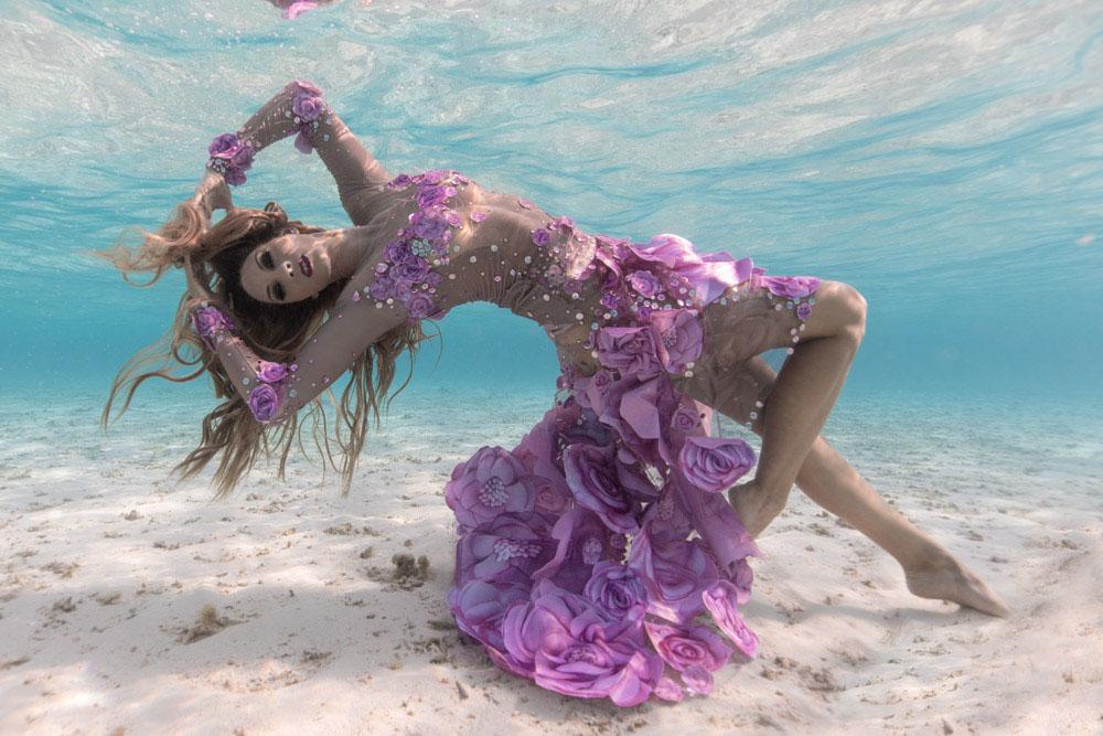 Interview mit Mermaid Kat - Unterwasser Stuntfrau - Foto von Ian Gray