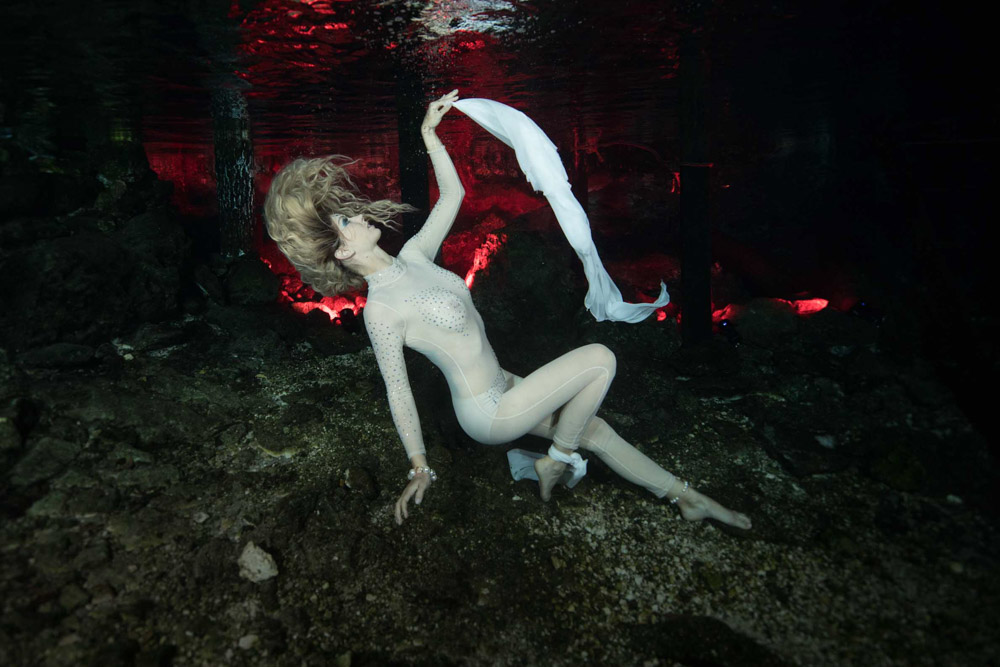 Unterwasser Modelling Kurs mit Katrin Gray