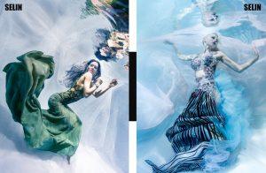 Unterwassermodel für Fashionmagazin - Unterwassershooting wie bei GNTM