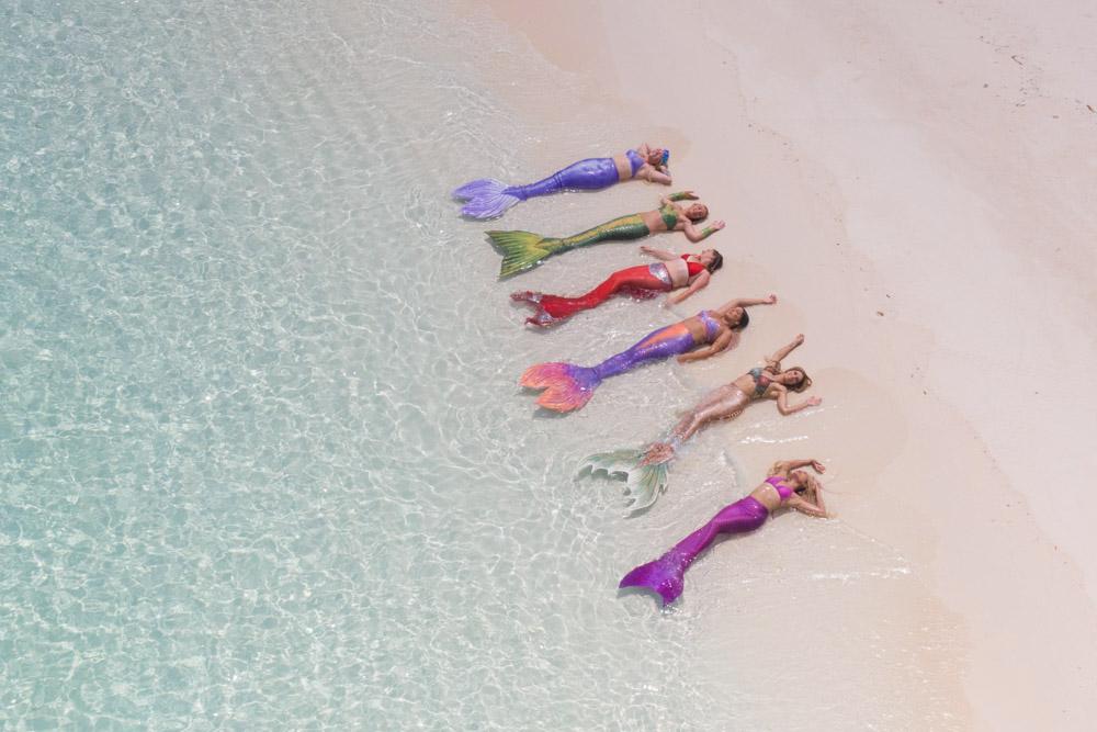 Meerjungfrauenreise auf die Malediven